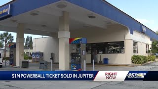 One million powerball ticket winner