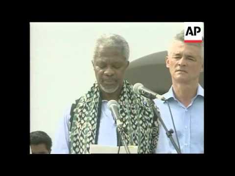EAST TIMOR: UN CHIEF KOFI ANNAN VISIT