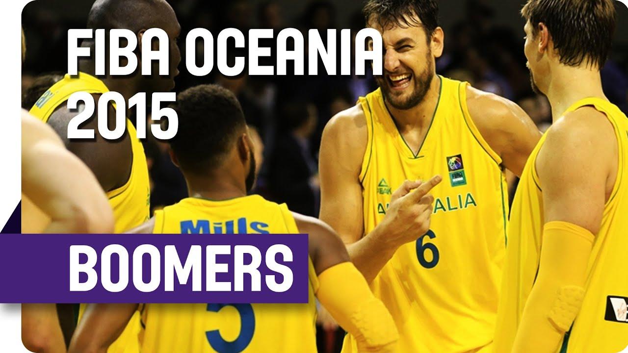 Australia Tournament Highlights - 2015 FIBA Oceania Championship