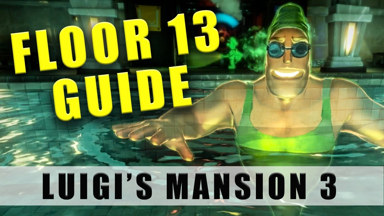 Luigi S Mansion 3 Floor 13 Walkthrough 100 13f Fitness Center Guide How To Get To The Boss Youtube