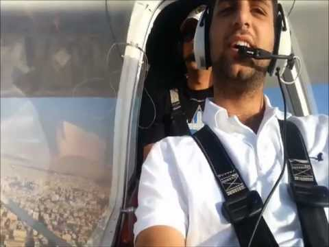 Flying Over West Amman