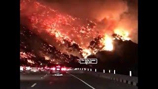INCENDIE À LOS ANGELES :O [INCROYABLE] 100% REEL