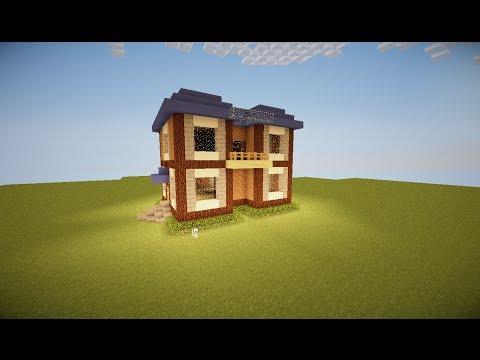 Full download minecraft case spettacolari 1 villa arancione for Minecraft case moderne
