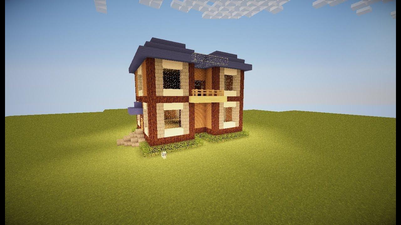 A doua casa in minecraft construirea ei youtube for Case belle su minecraft
