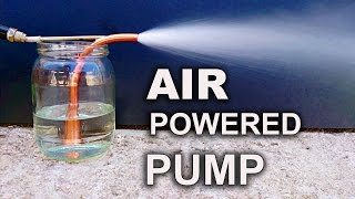 Make A Simple & Powerful Pump - The Venturi Pump