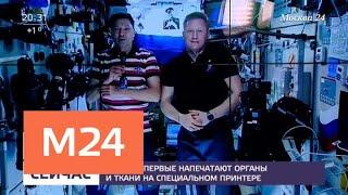 На МКС впервые напечатают органы и ткани на специальном принтере - Москва 24