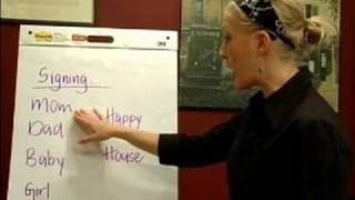 Sign Language Lessons: Common Phrases : Family Words in Sign Language