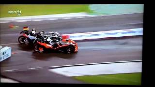 ROC 2017: Wehrlein vs Massa huge crash