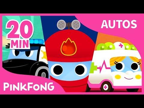 Las Mejores Canciones de Autos   +Recopilación   Pinkfong Canciones Infantiles