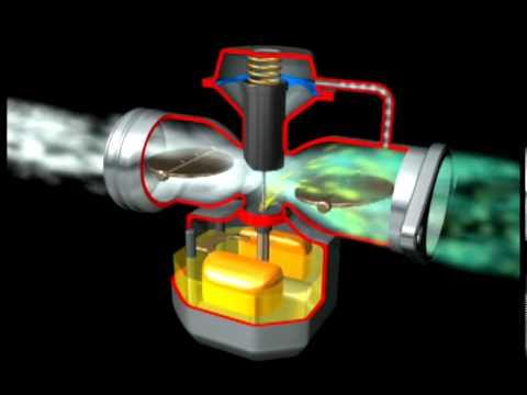 Carburador SU, de diafragma