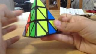 How To: Solve A Pyramid Rubik's Cube