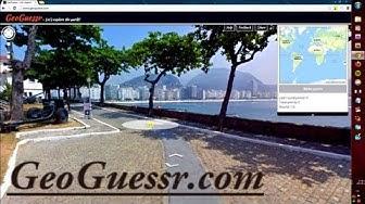 Google Street View Spiel: GeoGuessr | Geografie Ratespiel | deutsch [GERMAN]