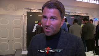 EDDIE HEARN TARGETS BRONER, PACQUIAO, SPENCE & BROOK FIGHTS FOR AMIR KHAN