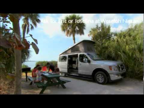 Nissan Cargo Van >> NISSAN NV Camper by Roadtrex - YouTube