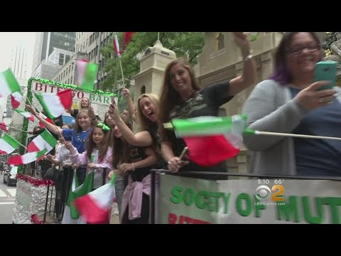 Thousands Celebrate At Columbus Day Parade