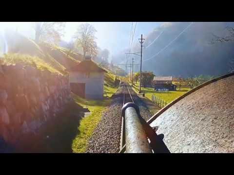 Travel trains Switzerland - Bernese Oberland Railway