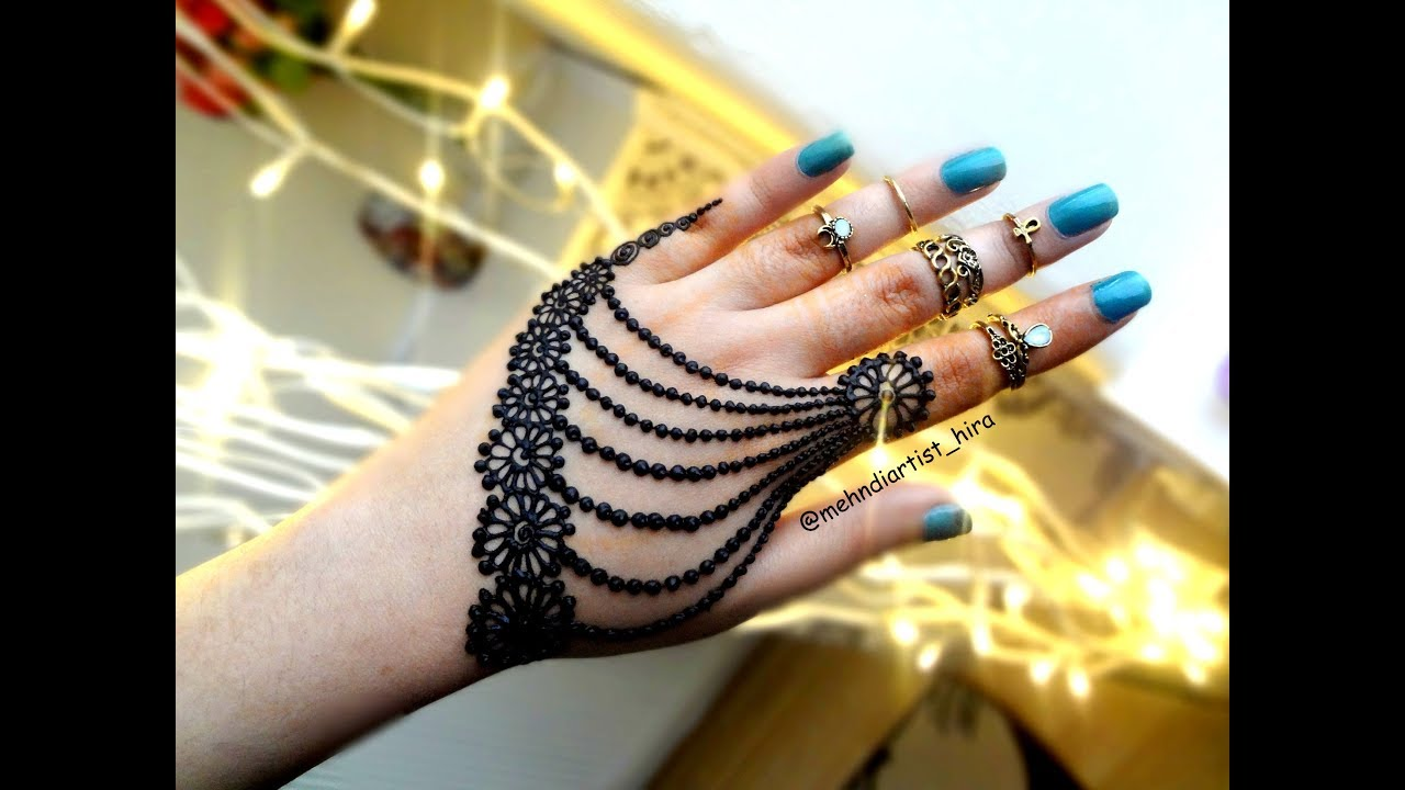 Henna Tattoo Designs For Diwali: Most Famous,easy And Beautiful Jewellery Henna Mehndi