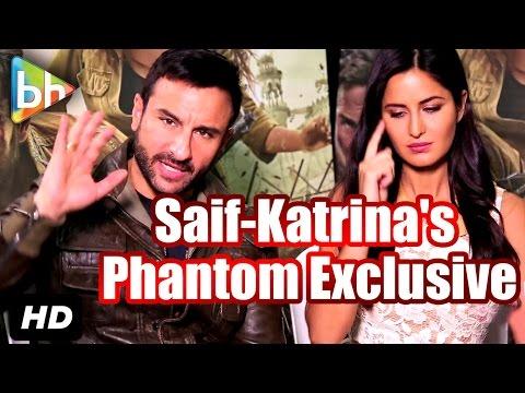 Exclusive: Saif Ali Khan | Katrina Kaif's Full Interview On Phantom | Rangoon | Fitoor