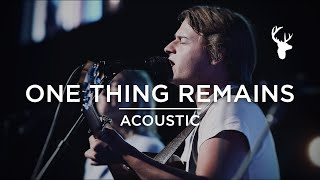 One Thing Remains + King of My Heart (Acoustic) - Noah Harrison   Moment