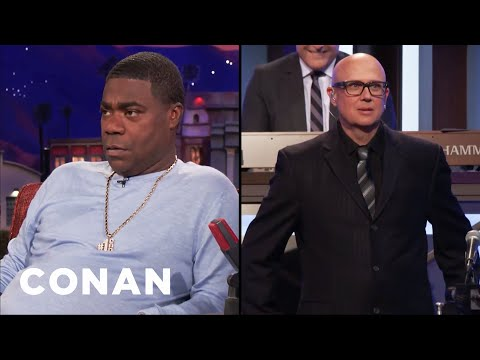 Tracy Morgan Is Suspicious Of CONAN's Trumpet Player  - CONAN on TBS