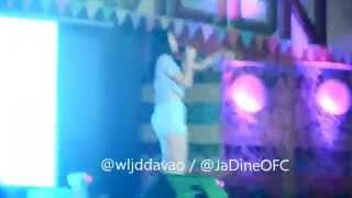 Nadine Lustre   Para paraan + Sparks Fly at Tagum City
