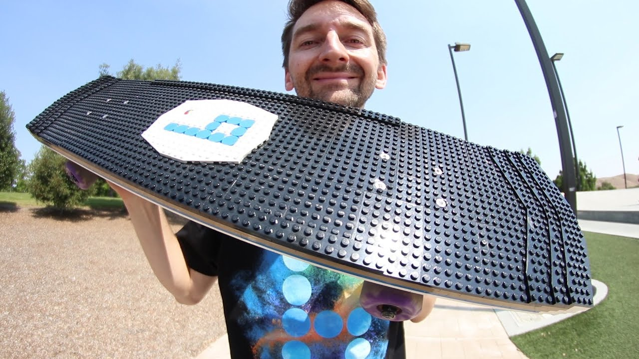 THE BEST LEGO BOARD EVER!!! | YOU MAKE IT WE SKATE IT EP. 217