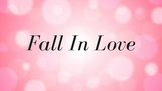 Ryzer - Fall In Love | Official Lyric Video |