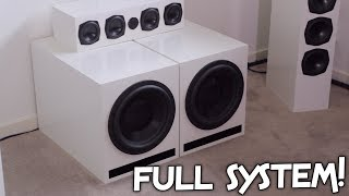 FULL DAYTON AUDIO SYSTEM UP LOUD!!