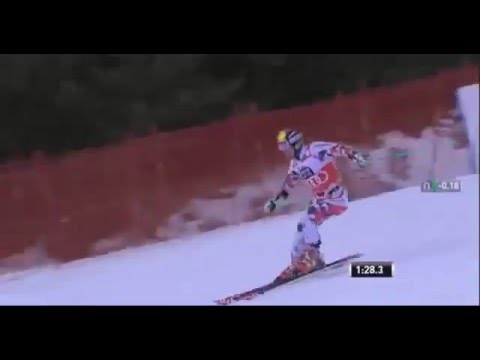 Marcel Hirscher wins GS in Alta Badia Italy