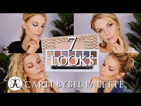 7 Looks | Carli Bybel Palette Anastasia Beverly Hills thumbnail
