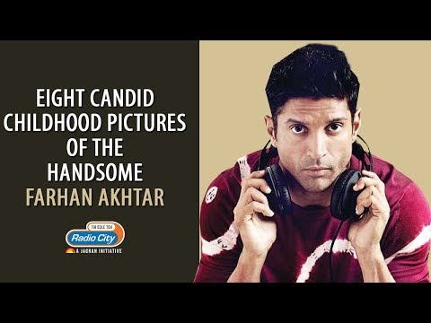 Farhan Akhtar: Eight Candid Childhood Pictures of the Handsome Actor