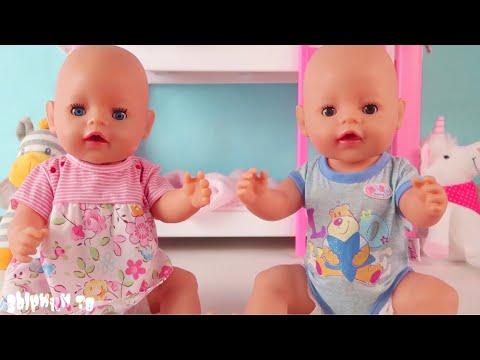 Двойняшки Беби Бон и НОВАЯ КРОВАТКА. Поехали в больницу ночью. Мультик для детей