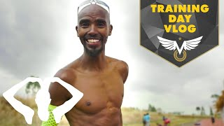 Behind the Scenes Of My Training Day Vlog | Training with Mo | Mo Farah