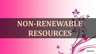 DIFFERENCE BETWEEN RENEWABLE RESOURCES AND NON RENEWABLE RESOURCES