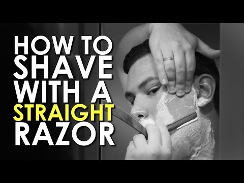 How to Shave with a Straight Razor | AoM Instructional