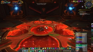 WoW PTR 7.3.2 Heal Monk Antorus, the Burning Throne Argus Raid Hope's End