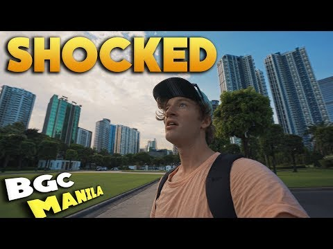 MANILA BGC FOR FIRST TIME (Ever).. Not What I Expected