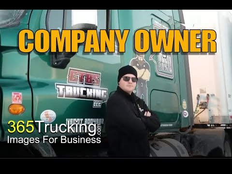 365Trucking: Becoming a trucking company owner. | Uncut Interview