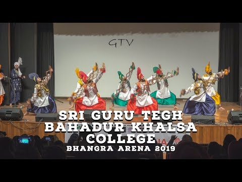 Sri Guru Tegh Bahadur Khalsa College – Bhangra Arena 2019