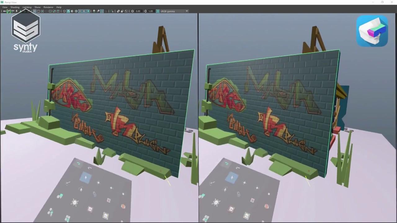 VR Plugin for Maya | Make Virtual Reality with Autodesk Maya