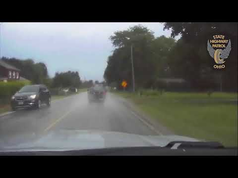 Stolen Police Cruiser Speeds Through Lorain, Ohio