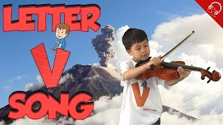 Words Starting With Letter V | ABC Word Song