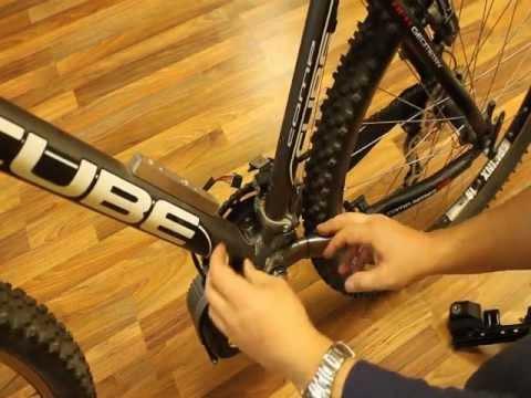 Sunstar S03 Ibike Montage Auf E-Bike Mountainbike