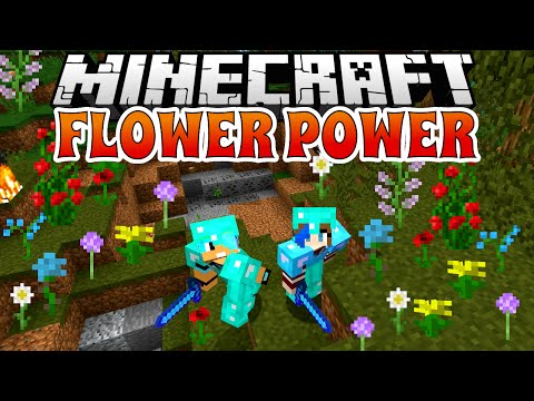 MINECRAFT FLOWER POWER UHC ZONE | GAMER CHAD & RADIOJH GAMES