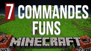 7 Commandes Funs à utiliser ! - Minecraft