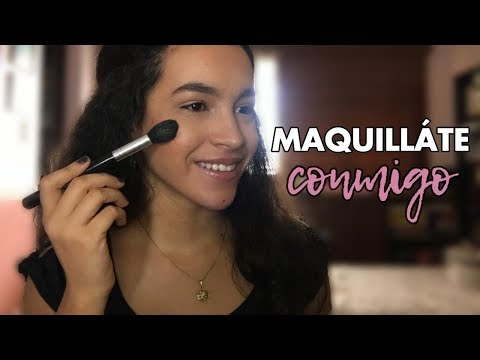 MAQUÍLLATE CONMIGO | Chit Chat Get Ready With Me