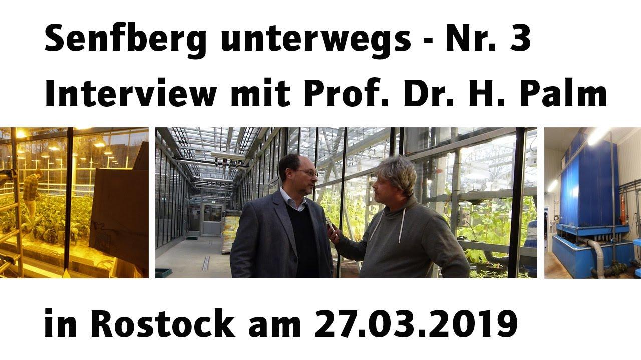 Senfberg unterwegs Nr. 3 - Interview mit Prof. Dr. Palm an der Universität Rostock