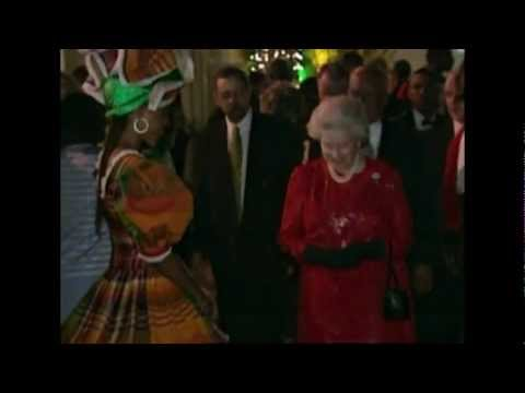 The Queen visits Jamaica, 2002