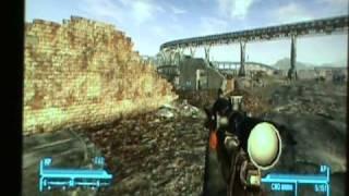 fallout new vegas glitch - the forbidden gun
