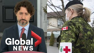 Coronavirus outbreak: Trudeau responds to military report on poor conditions at Ontario care homes